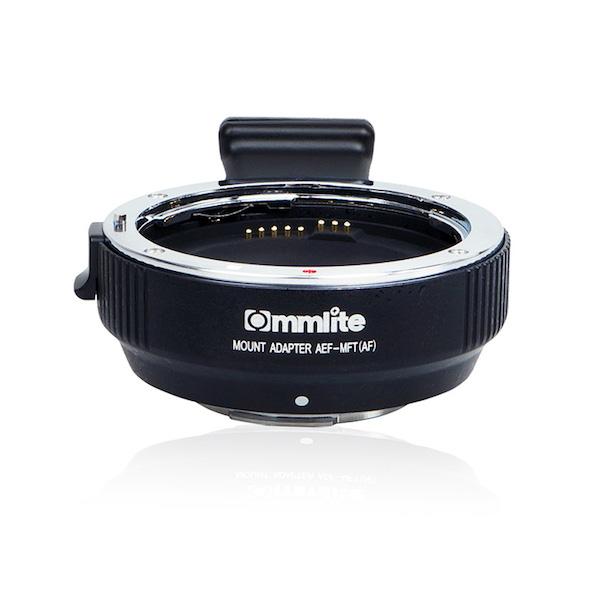 Commlite CM-AEF-MFT 電子マウントアダプター(キヤノンEFマウントレンズ → マイクロフォーサーズマウント変換)