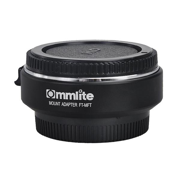 Commlite CM-FT-MFT 電子マウントアダプター(フォーサーズマウント → マイクロフォーサーズマウント変換)