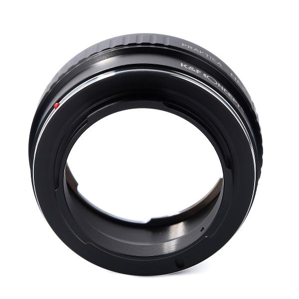 K&F Concept レンズマウントアダプター KF-PBE (プラクチカBマウントレンズ → ソニーEマウント変換)