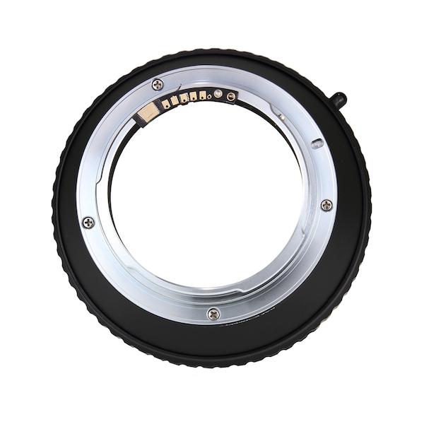 K&F Concept レンズマウントアダプター KF-HBEF-E (ハッセルブラッドVマウントレンズ → キャノンEFマウント変換)、電子接点付き
