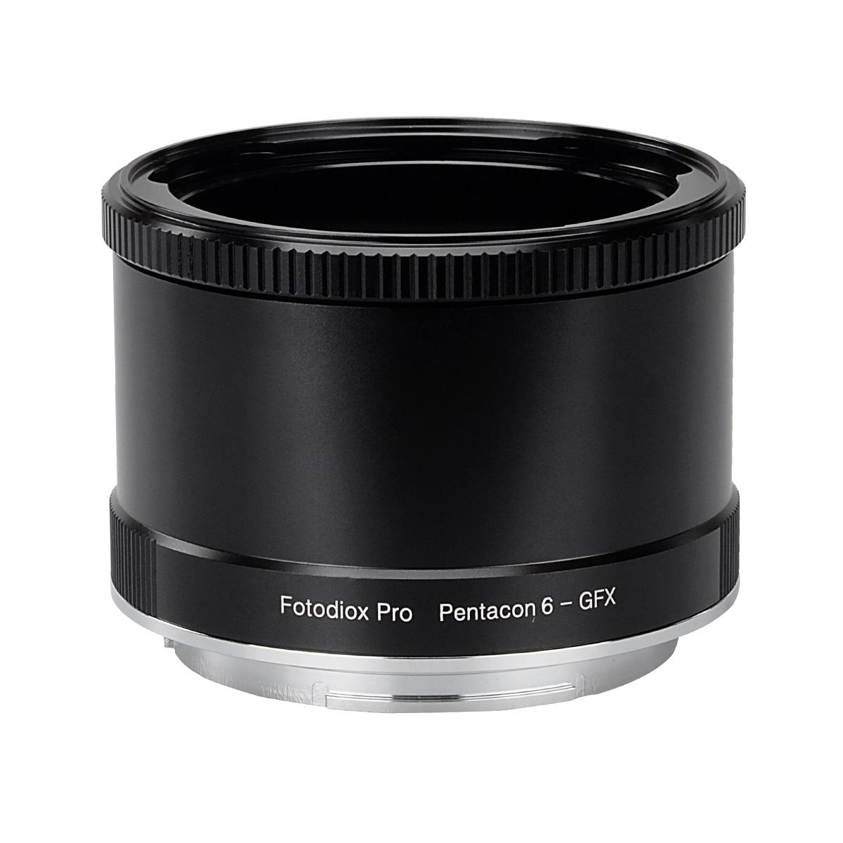 Fotodiox P6-GFX(ペンタコンシックス│キエフ60マウントレンズ → 富士フイルムGマウント変換)マウントアダプター