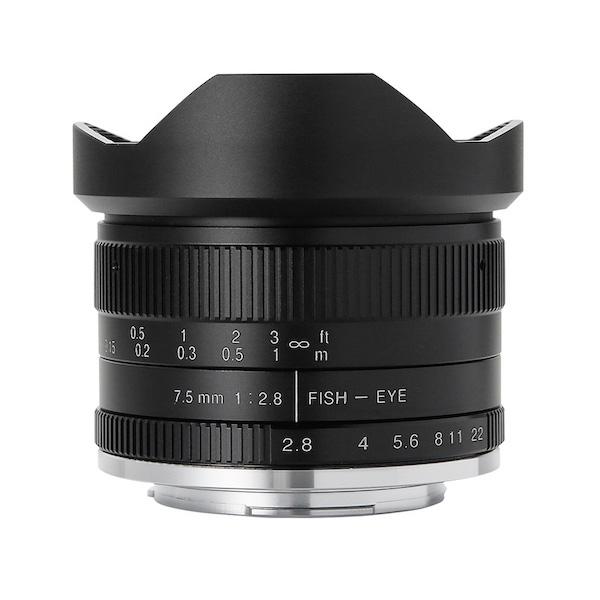 七工匠 7Artisans 7.5mm F2.8 Fish-eye II 単焦点(魚眼)レンズ