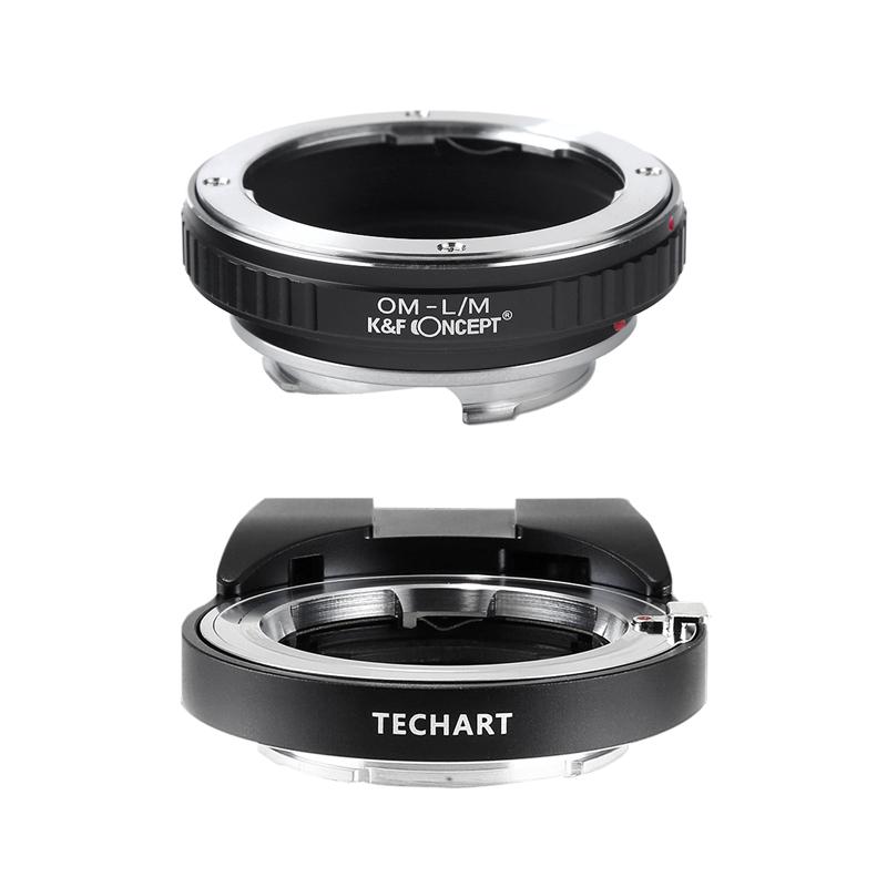 TECHART LM-EA7 + K&F Concept KF-OMM|オリンパスOMレンズ用アダプターセット