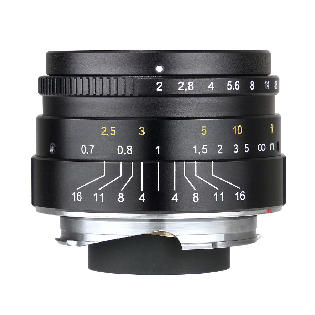 七工匠 7Artisans 35mm F2 単焦点レンズ ライカMマウント