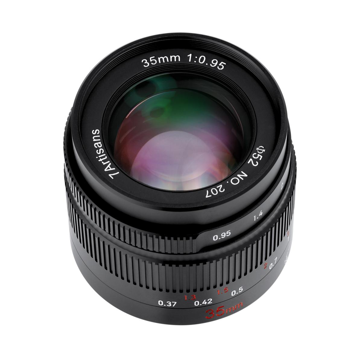 七工匠 7Artisans 35mm F0.95 単焦点レンズ