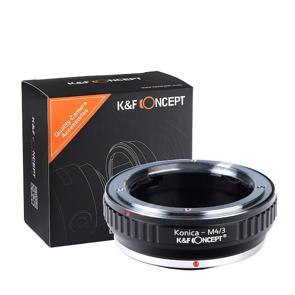 K&F Concept レンズマウントアダプター KF-ARM43 (コニカARマウントレンズ → マイクロフォーサーズマウント変換)