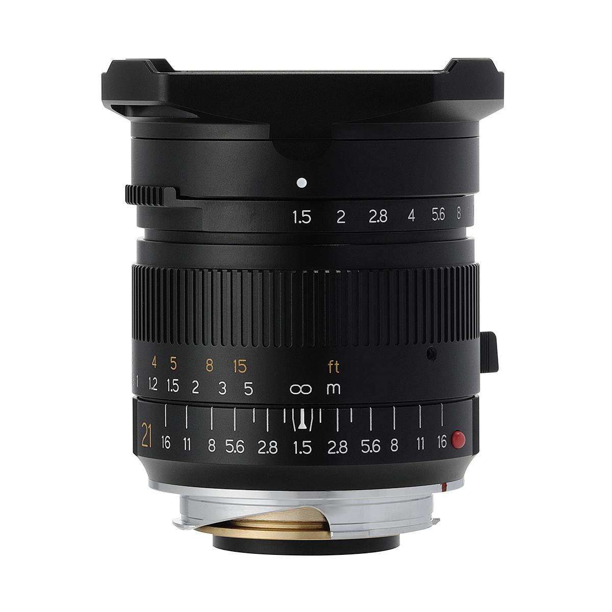 銘匠光学 TTArtisan 21mm f/1.5 ASPH ライカMマウント ブラック 単焦点レンズ