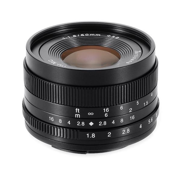 七工匠 7Artisans 50mm F1.8 単焦点レンズ