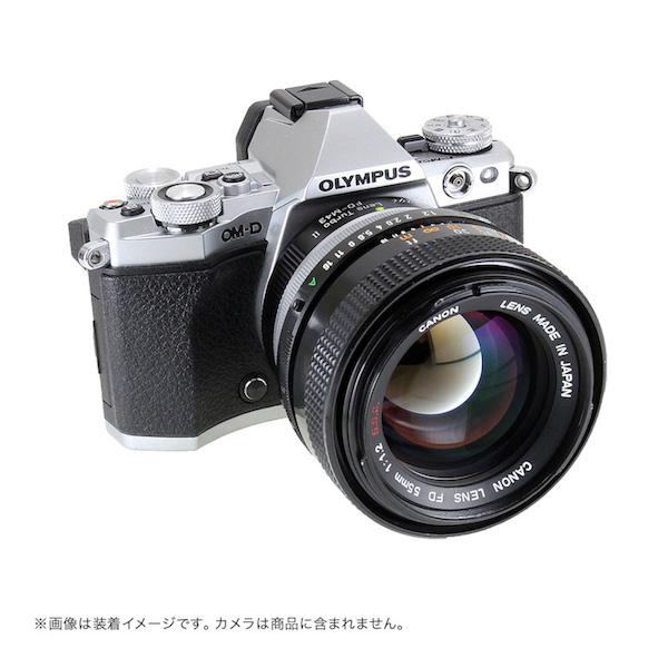 Lens Turbo II FD-m43 キヤノンFDマウントレンズ - マイクロフォーサーズマウント フォーカルレデューサーアダプター