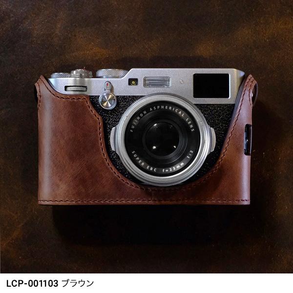 cam-in(カムイン)カメラケース 富士フイルムX 100F用 イタリアンレザー LCP-001