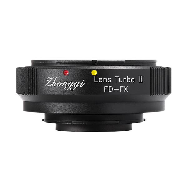 Lens Turbo II FD-FX キヤノンFDマウントレンズ - 富士フイルムXマウント フォーカルレデューサーアダプター