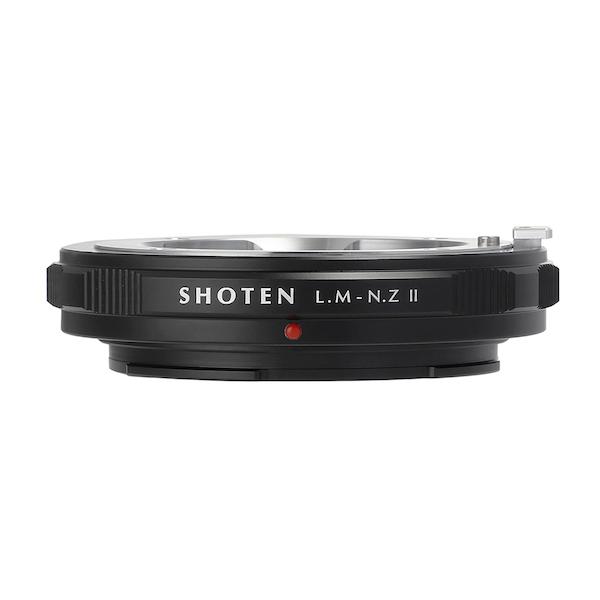 SHOTEN LM-NZ II(ライカMマウントレンズ → ニコンZマウント変換)マウントアダプター