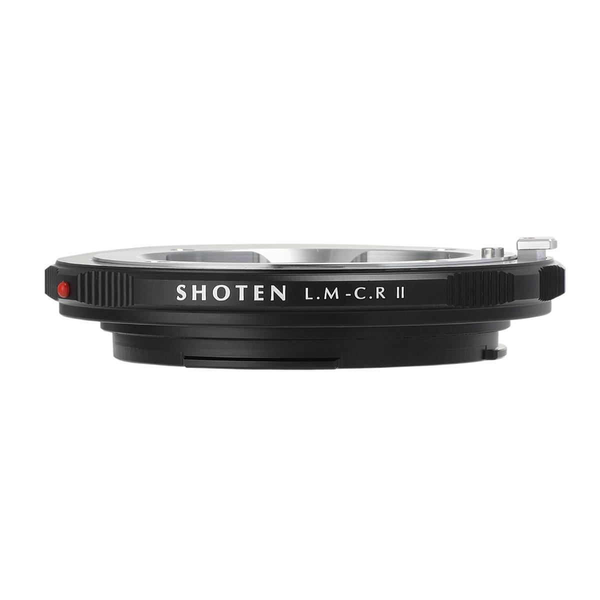 SHOTEN LM-CR II(ライカMマウントレンズ → キヤノンRFマウント変換)マウントアダプター