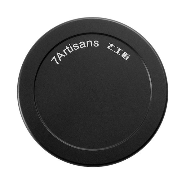 七工匠 7Artisans メタルレンズキャップ(7.5mm F2.8 Fish-eye II 用)