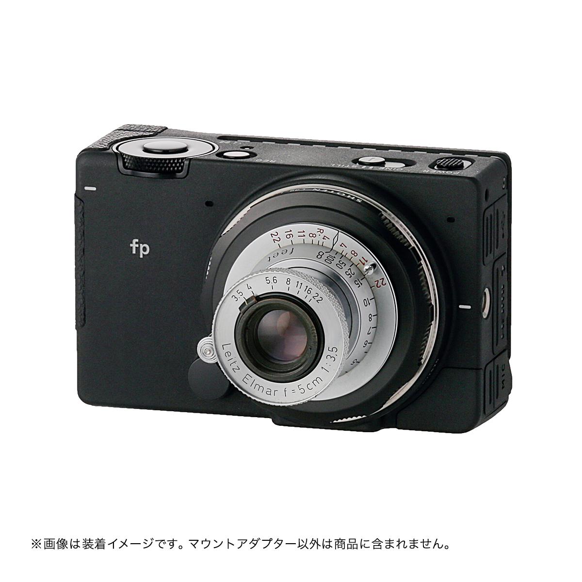 SHOTEN  L39-LSL(ライカL39マウントレンズ →  L(バヨネット)マウント変換)アジャスト機能付きマウントアダプター