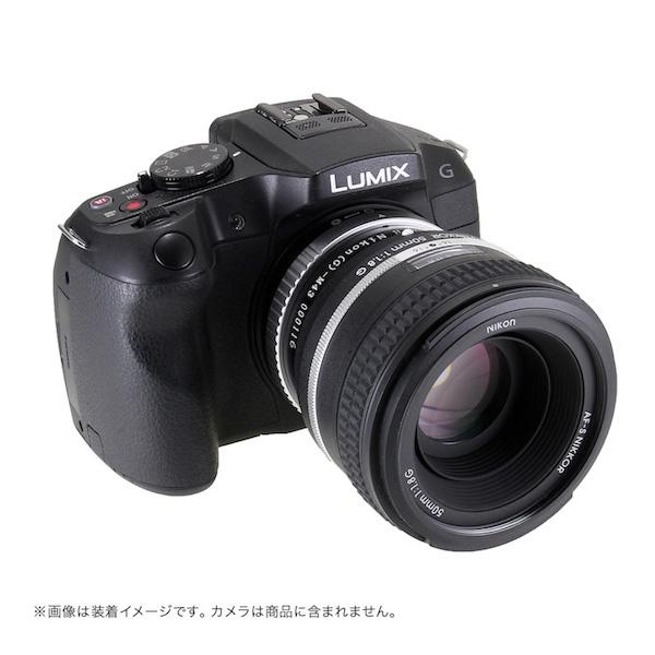 Lens Turbo II N/G-m43 ニコンFマウント/Gシリーズレンズ - マイクロフォーサーズマウント フォーカルレデューサーアダプター