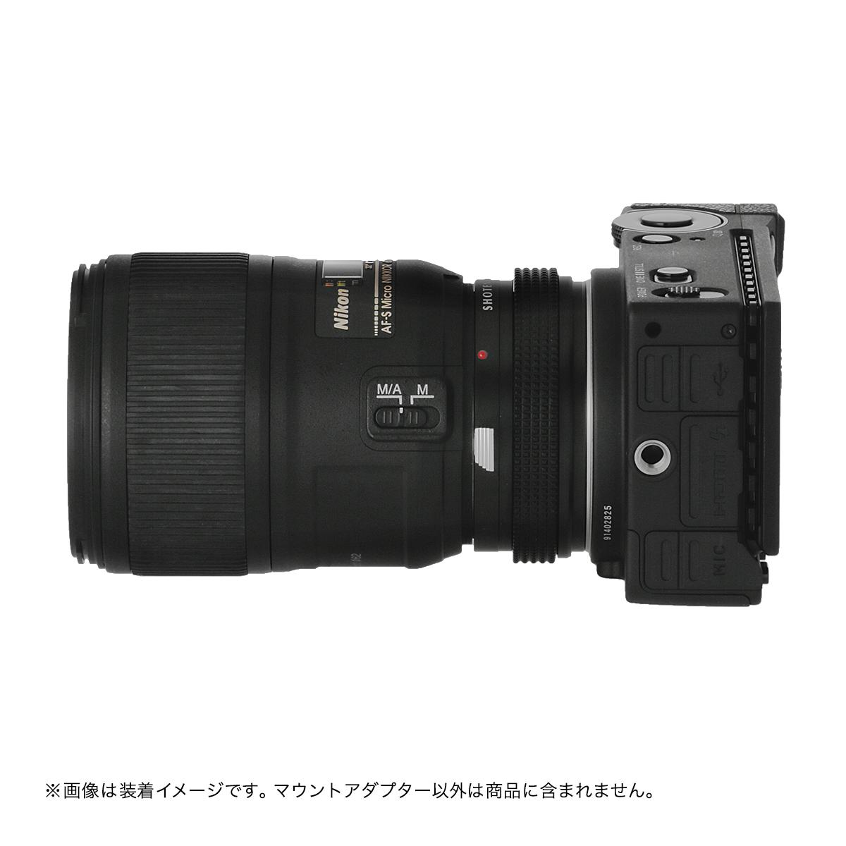 SHOTEN  NFG-LSL(ニコンFマウント[Gタイプ対応]マウントレンズ →  L(バヨネット)マウント変換)絞りリング付きマウントアダプター