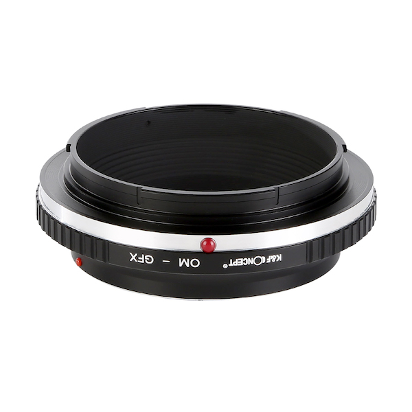K&F Concept KF-OMG マウントアダプター (オリンパスOMマウントレンズ → 富士フイルムGFX Gマウント変換)