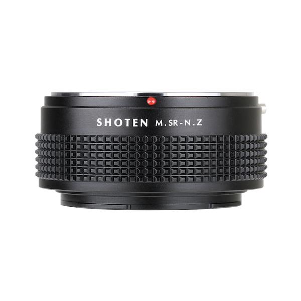 SHOTEN MSR-NZ(ミノルタMD・MC│SRマウント → ニコンZマウント変換)マウントアダプター