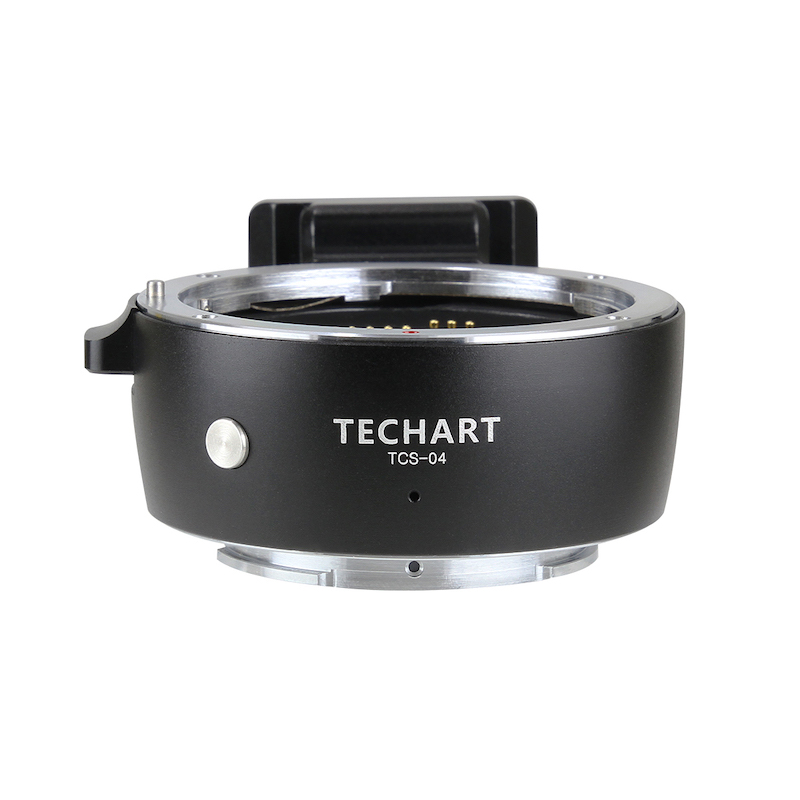 TECHART TCS-04(キヤノンEFマウントレンズ → ソニーEマウント変換)電子マウントアダプター