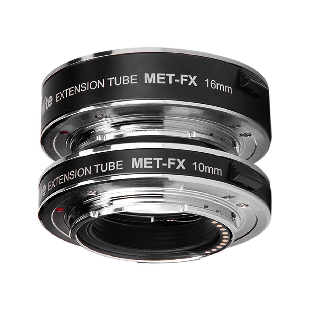 Commlite CM-MET-FX エクステンションチューブ(富士フイルムXマウント)電子接点付き