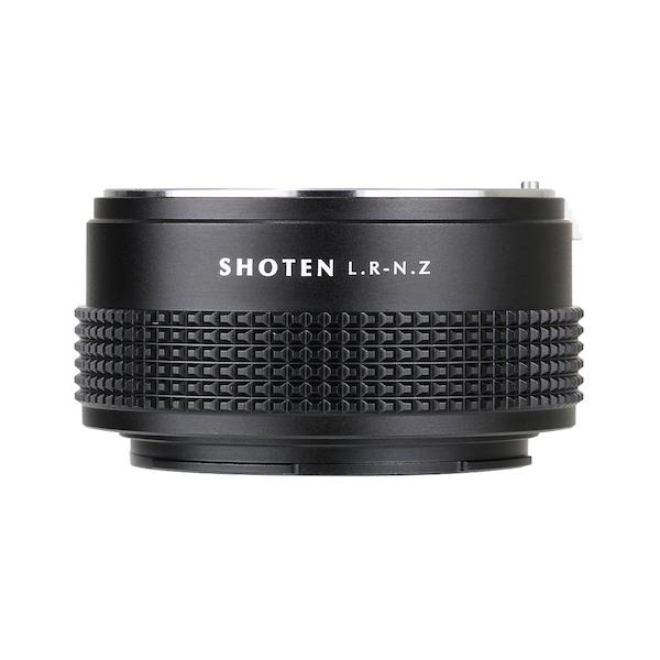 SHOTEN LR-NZ(ライカRマウントレンズ → ニコンZマウント変換)マウントアダプター