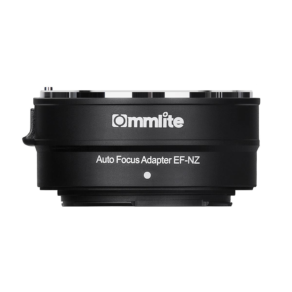 Commlite CM-EF-NZ 電子マウントアダプター(キヤノンEFマウントレンズ → ニコンZマウント変換)