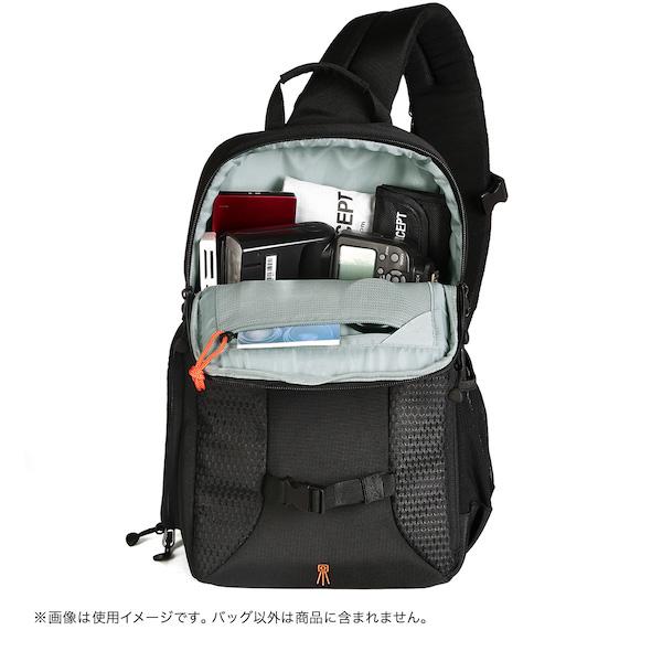 K&F Concept カメラバックパック ワンショルダー[SHADOW]KF-B082S