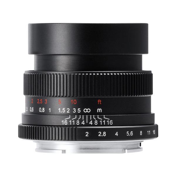 七工匠 7Artisans 35mm F2 単焦点レンズ