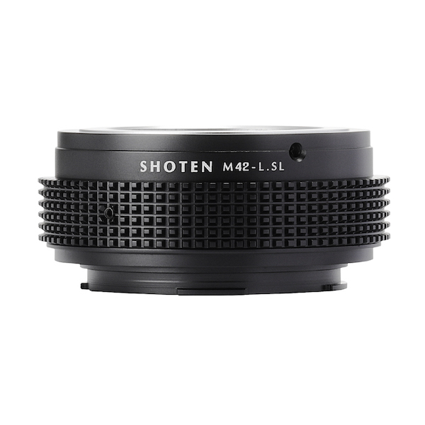 SHOTEN M42-LSL(M42マウントレンズ → ライカSL.Lマウント変換)マウントアダプター