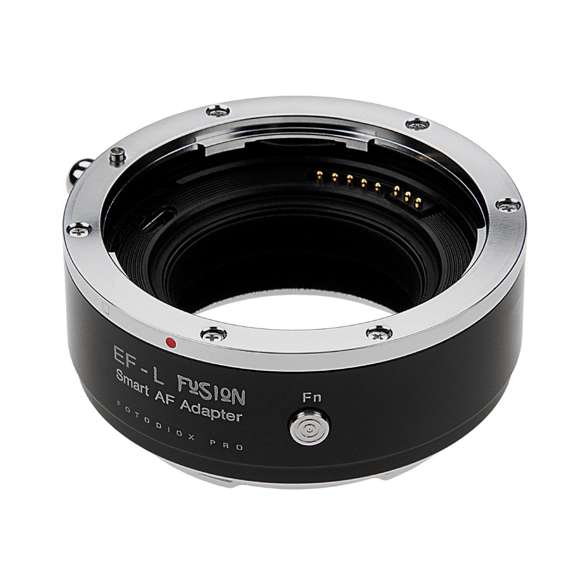 Fotodiox EF-LT-FSN(キヤノンEFマウントレンズ → L(バヨネット)マウント変換)電子マウントアダプター ファンクションボタン搭載