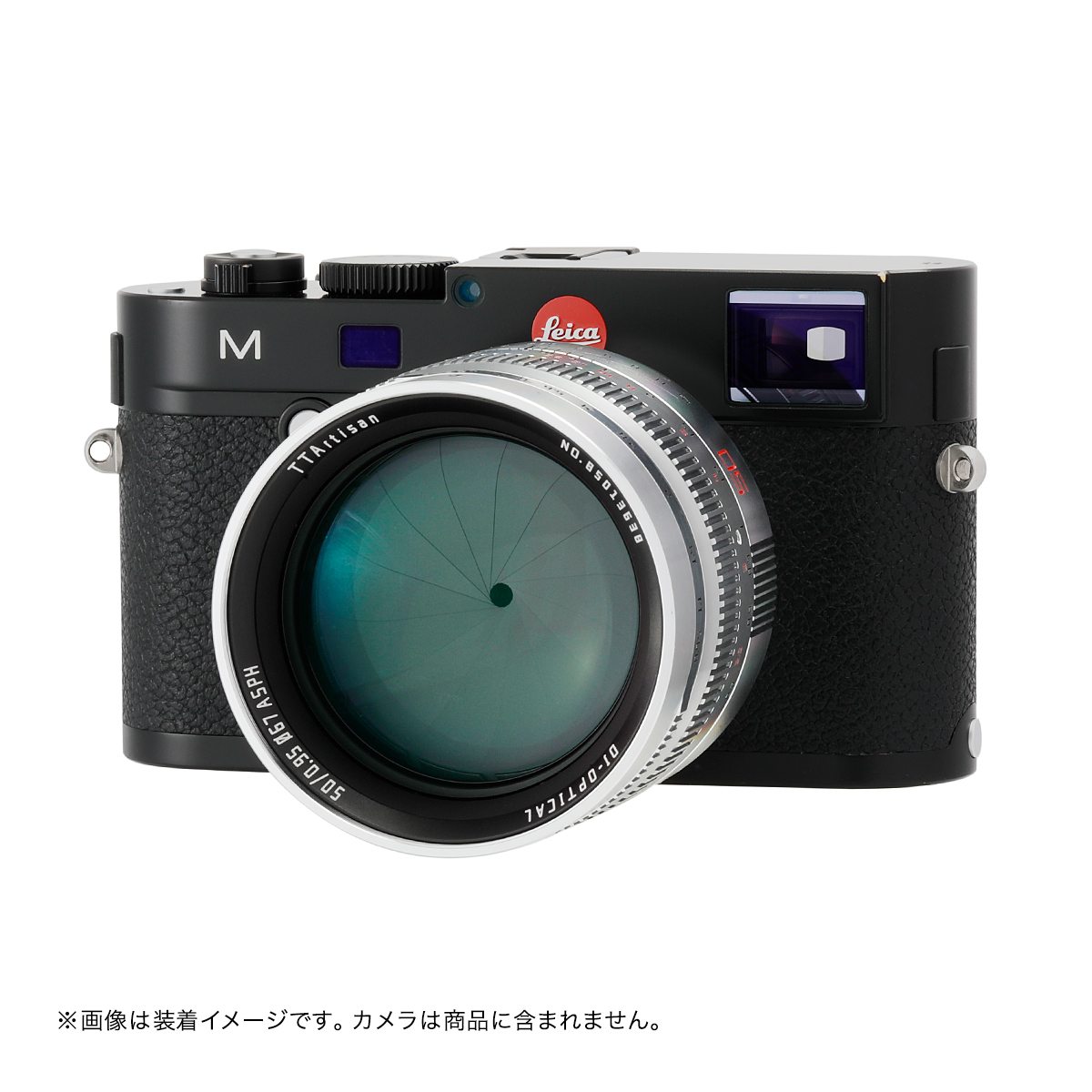 銘匠光学 TTArtisan 50mm f/0.95 ASPH 単焦点レンズ シルバー ライカMマウント - 予約販売(入荷次第に出荷)