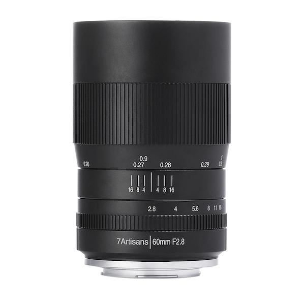 七工匠 7Artisans 60mm F2.8 Macro 単焦点レンズ
