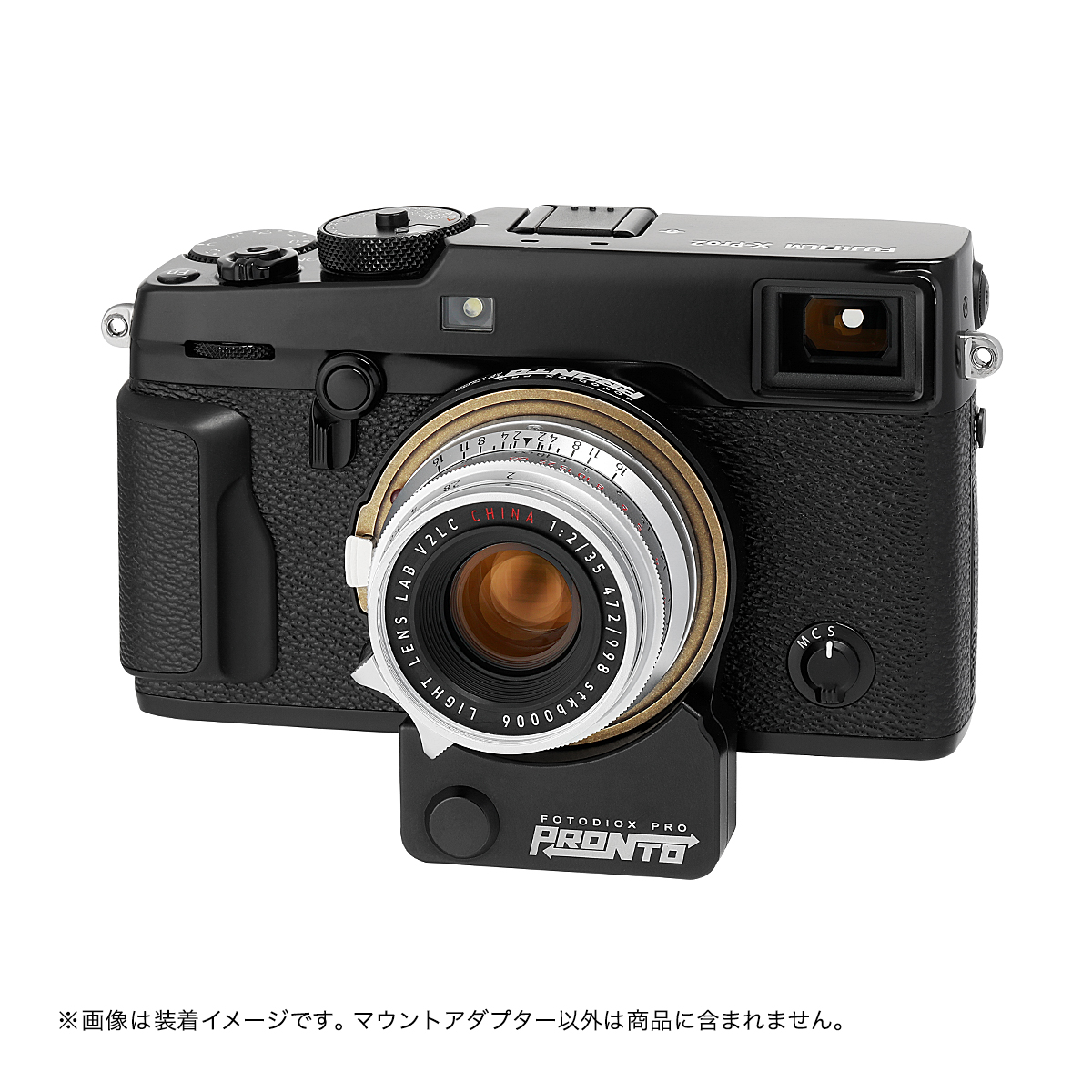 Fotodiox LM-FXRF-PRN(ライカMマウントレンズ → 富士フイルムXマウント変換)電子マウントアダプター AF駆動モーター搭載