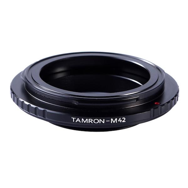 K&F Concept レンズマウントアダプター KF-TRM42 (タムロンアダプトールマウントレンズ → M42マウント変換)