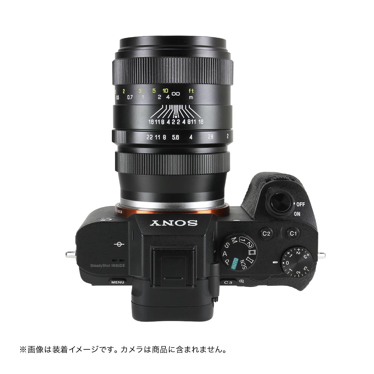 中一光学 CREATOR 35mm F2.0 単焦点レンズ ブラック