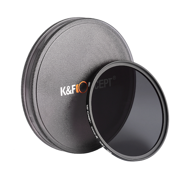 K&F Concept NANO-X NDフィルター ND8(3絞り分減光)|KF-NND8