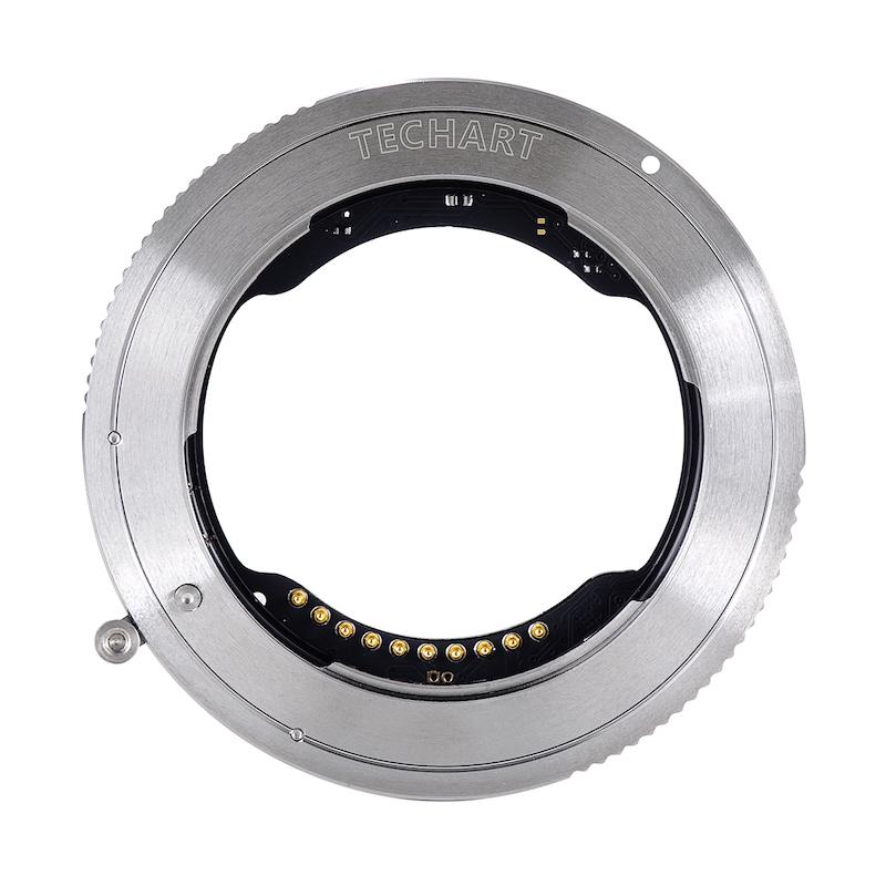 TECHART TZE-01 + EF-E(キヤノンEFマウントレンズ → ソニーEマウント → ニコンZマウント変換)電子マウントアダプターセット