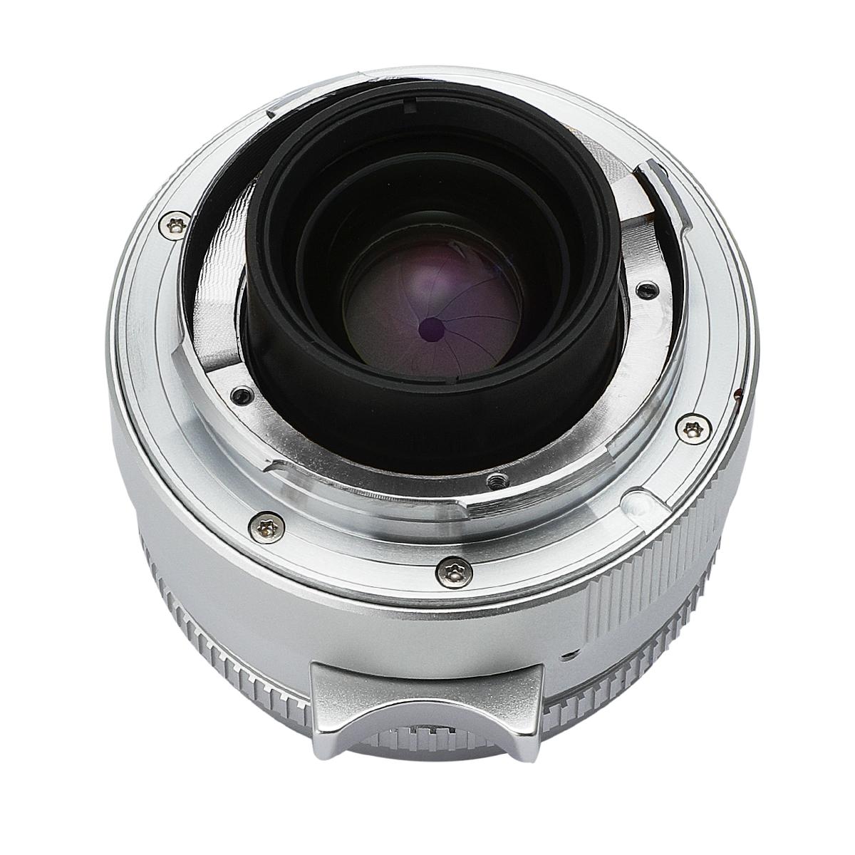 七工匠 7Artisans 35mm F2 シルバー 単焦点レンズ ライカMマウント