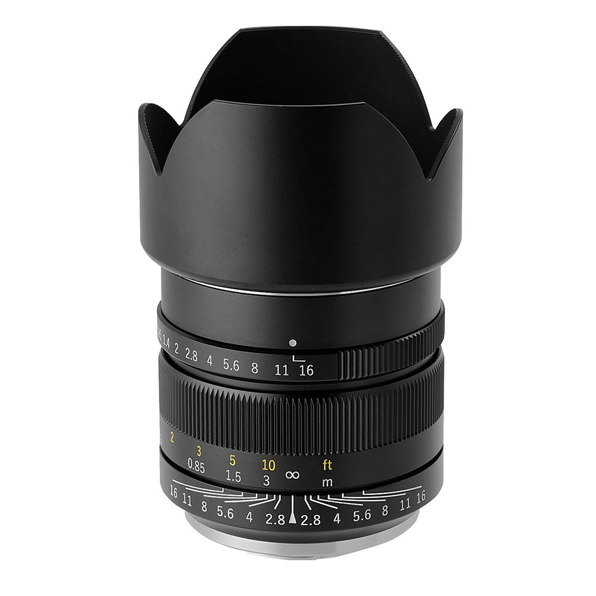 中一光学 SPEEDMASTER 17mm F0.95 マイクロフォーサーズマウント 単焦点レンズ ブラック