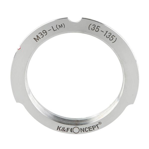 K&F Concept レンズマウントアダプター KF-LM-35135 (ライカLマウントレンズ → ライカMマウント変換)