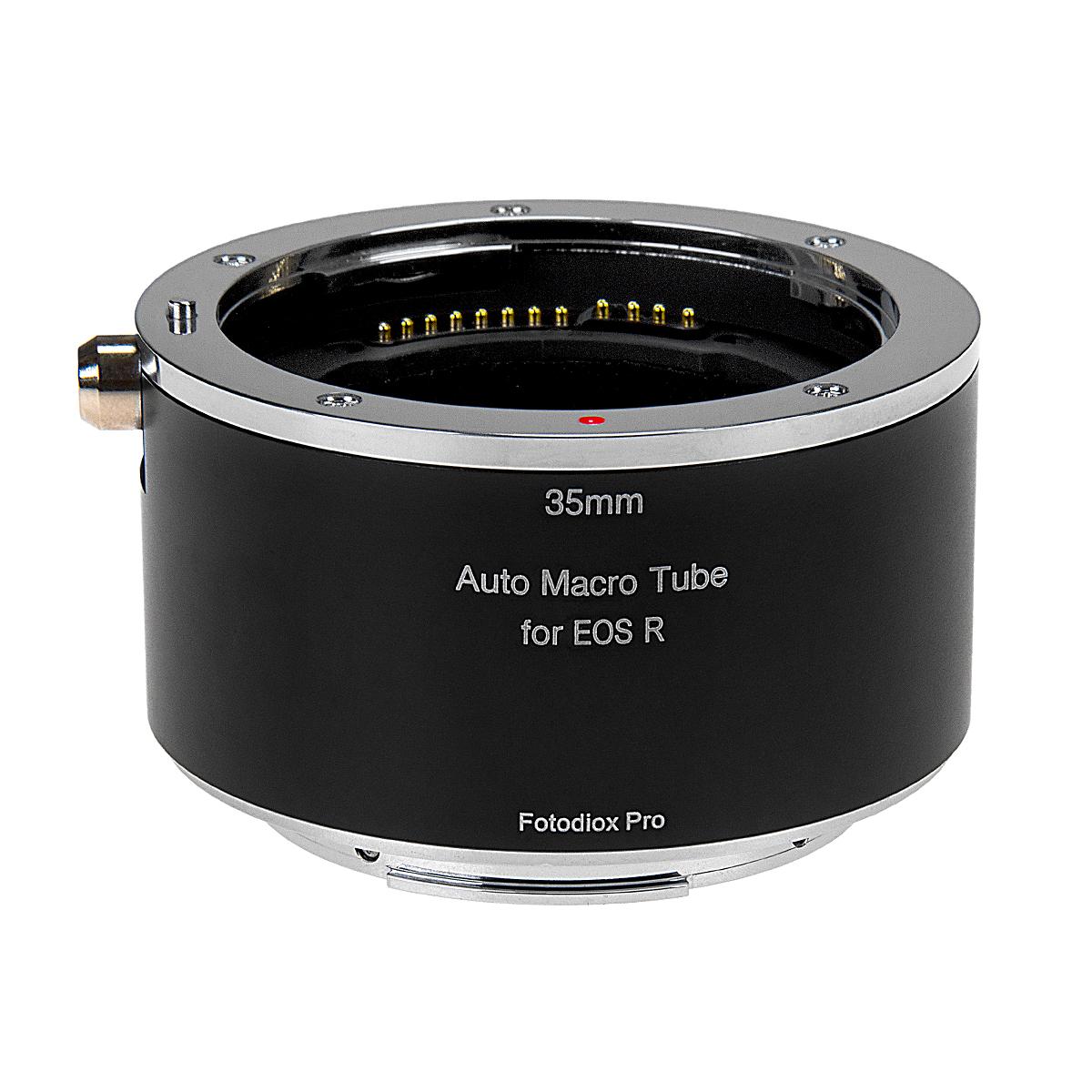 Fotodiox MTA-EFR(キヤノンRFマウント)マクロエクステンションチューブ 電子接点装備