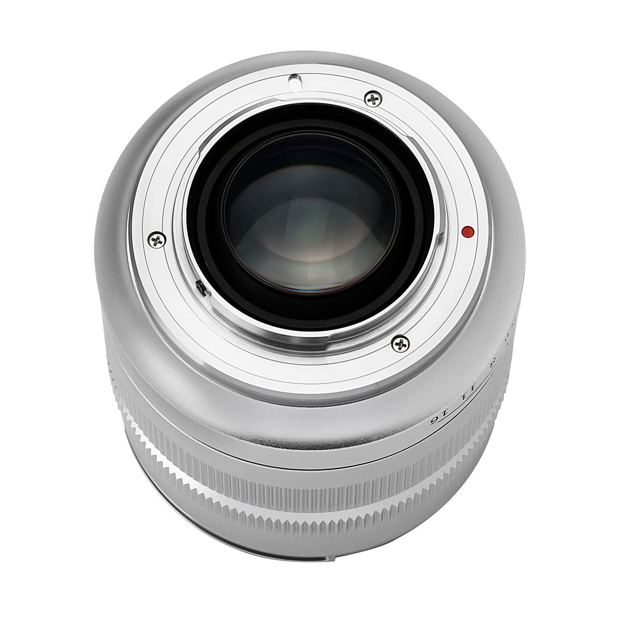 中一光学 SPEEDMASTER 17mm F0.95 マイクロフォーサーズマウント 単焦点レンズ シルバー
