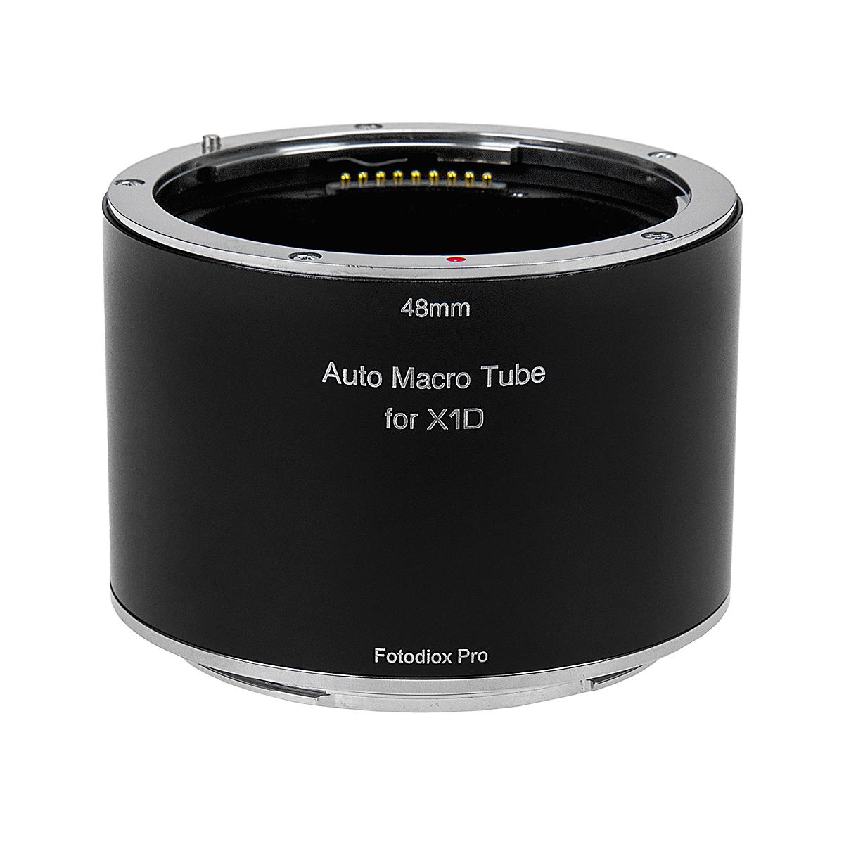 Fotodiox MTA-XCD(ハッセルブラッドXマウント)マクロエクステンションチューブ 電子接点装備
