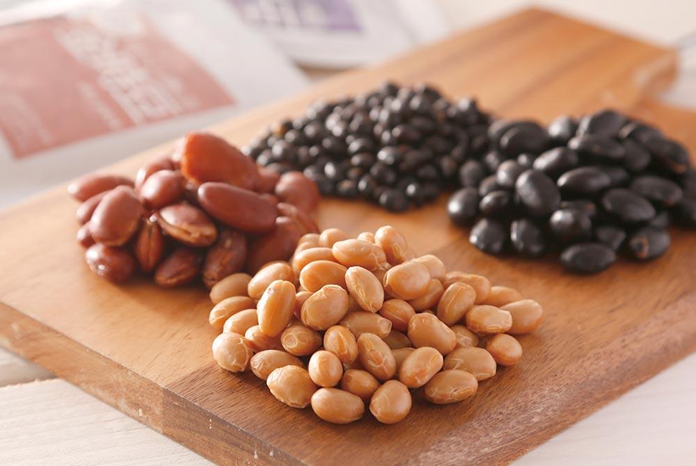 北海道産豆のドライパック4種