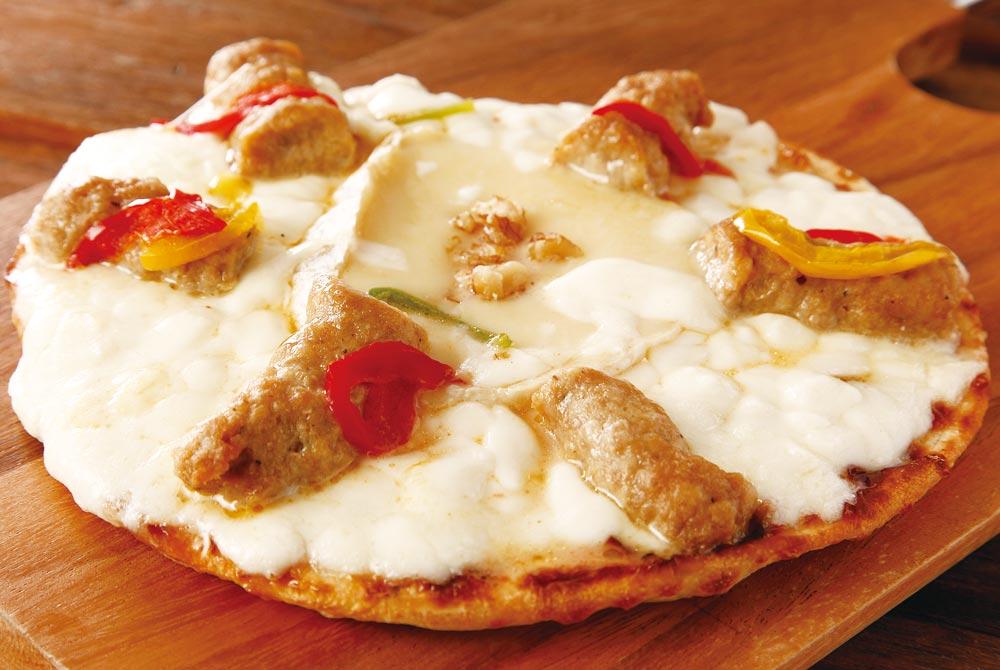 【安平町】晩酌のピザ 3種