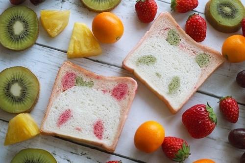 【動物食パン2本セット】