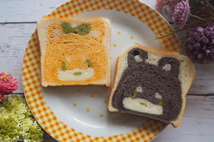 【いぬ食パン】