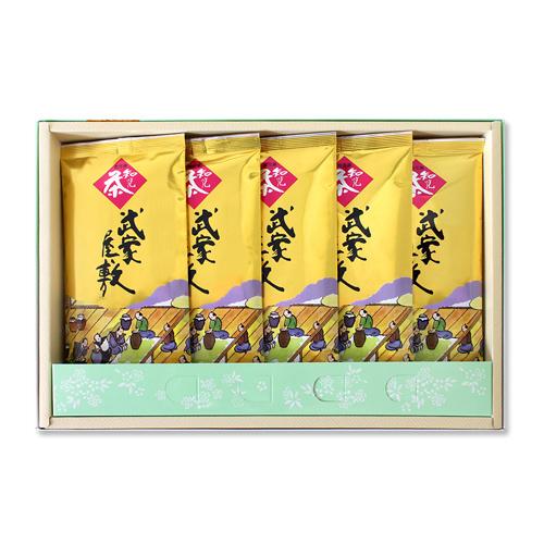 知覧茶 武家屋敷 金印 5本【箱入り】