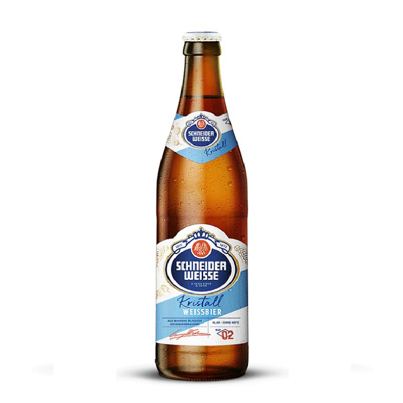 ◇夏季限定商品◇Schneider Weisse TAP 2 Mine Kristall【シュナイダー・ヴァイセ・クリスタル】 500ml瓶×20本入